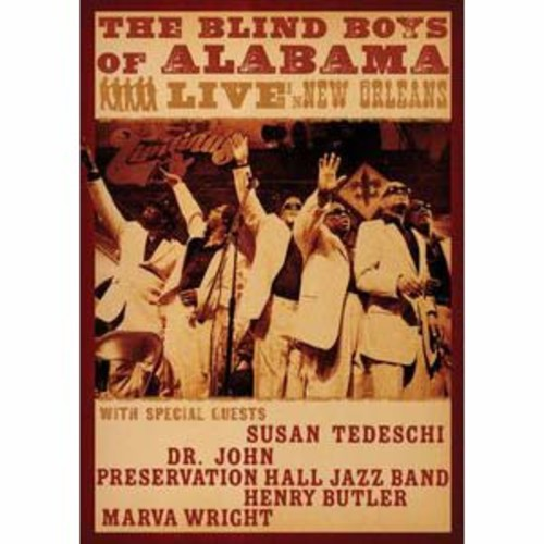 The Blind Boys of Alabama: Live in New Orleans DD5.1