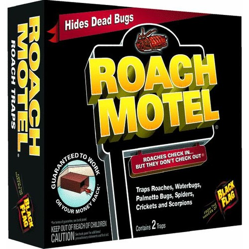 Black Flag Roach Motel Roach Bait & Trap - HG-11020