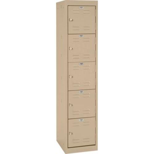 Five tier locker, hasp handle, tropic sand