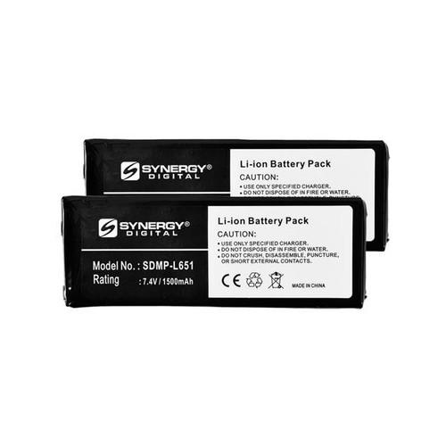 Cobra microTALK CXR925 2-Way Radio Battery Combo-Pack includes: 2 x SDMP-L651 Batteries
