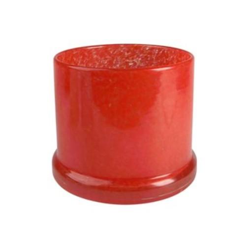 Artland Amazing Basics Glass Wine Coaster/Candle Holder in Clownfish Orange