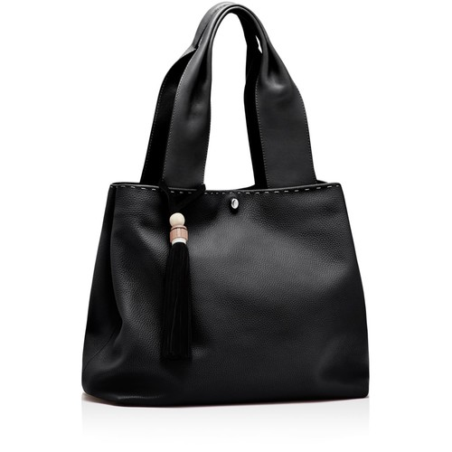 ELIZABETH AND JAMES Teddy Leather Tote
