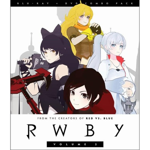 RWBY: Vol. 2 [2 Discs] [Blu-ray/DVD]