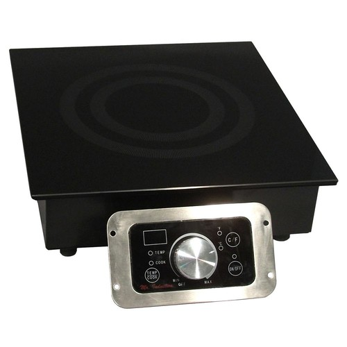 SPT 12.5 in. Built-In Electric Cooktop in Black with 1 Element