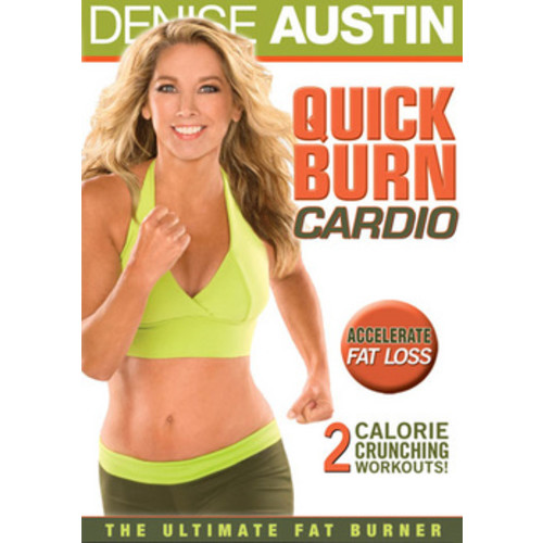 Denise Austin: Quick Burn Cardio [DVD] [2010]