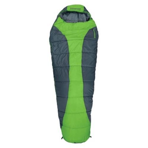 Stansport Trekking Mummy Sleeping Bag - Lime Green