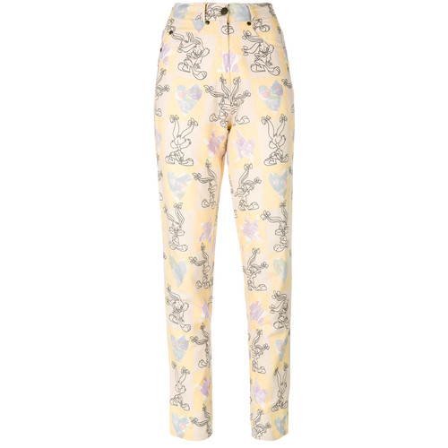 Bugs Bunny print trousers
