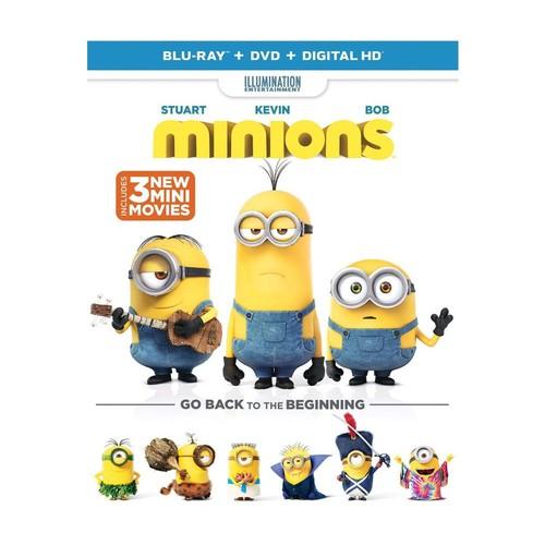Minions Blu-Ray, DVD, and Digital HD