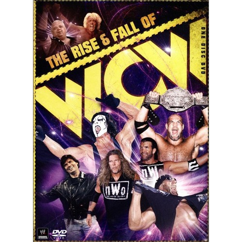 WWE: The Rise & Fall of WCW (DVD) 2009