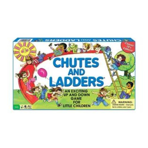 Winning Moves Games Chutes and Ladders Classic Edition Game