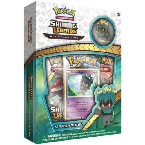 Pokemon Trading Card Game Shining Legend Marshadow Pin Collection