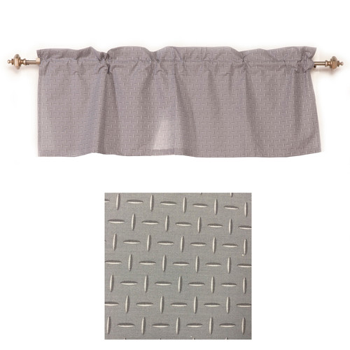 One Grace Place Teyo's Tires Valance, Grey
