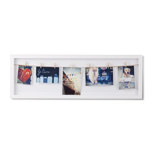 Umbra Clothesline Flip Picture Frame [White]
