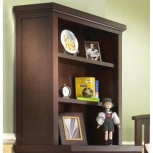 Sorelle Alex 3 Drawer Chest Hutch - Mocha
