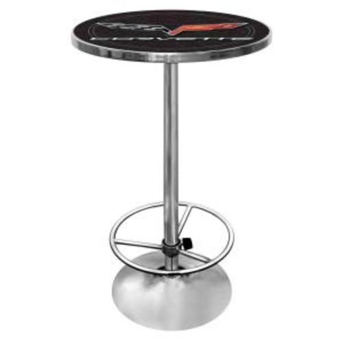 Trademark Corvette Black Pub/Bar Table