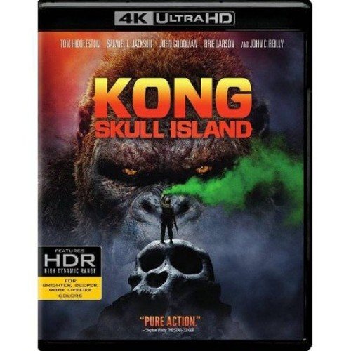 Kong: Skull Island [4K UHD] [Blu-Ray] [Digital HD]