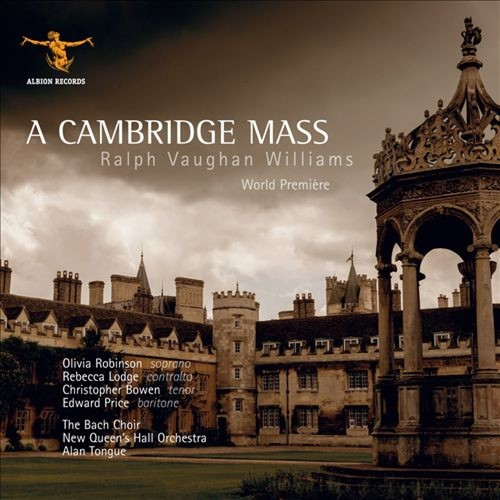 Ralph Vaughan Williams: A Cambridge Mass [CD]