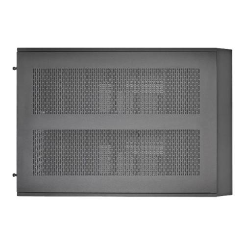 ThermalTake Core X5 - Cube - extended ATX - no power supply (PS/2) - black - USB/Audio (CA-1E8-00M1WN-00)