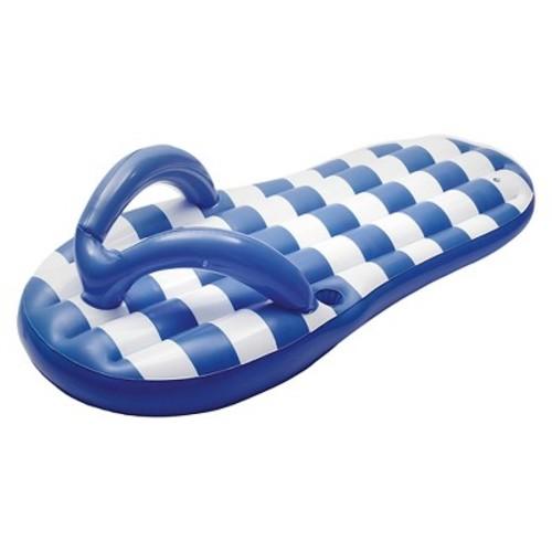Marine Blue Flip Flop 71-in Inflatable Pool Float