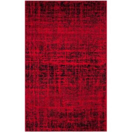 Safavieh Adirondack Red/Black 3 ft. x 5 ft. Area Rug