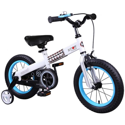 Royalbaby Buttons Kids Bike with 18 in. Wheels in Blue