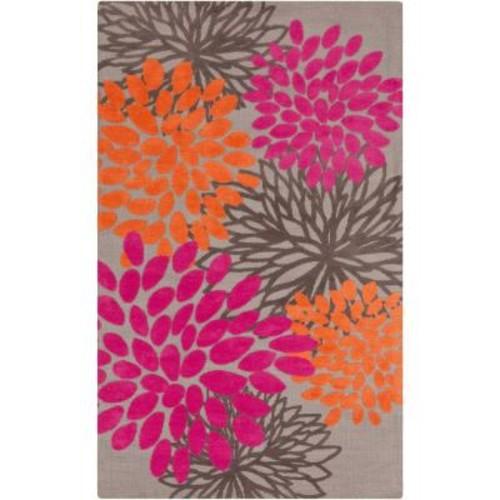 Artistic Weavers Charming Hot Pink 2 ft. x 3 ft. Indoor Area Rug