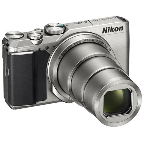 Nikon Coolpix A900 Point & Shoot Camera, Silver 26505