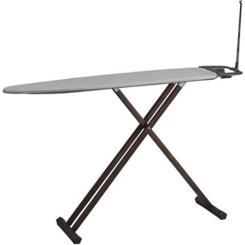 Household Essentials Eucalyptus Tri-leg Ironing Board with Iron Rest and Cord Minder