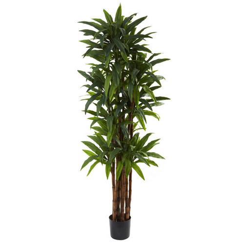 Nearly Natural Artificial Plants 6.5-foot Dracaena Tree
