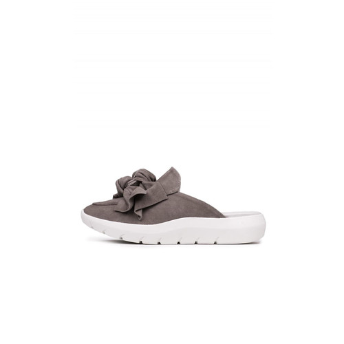 Taupe Sneaker Mule