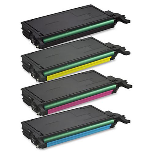 Samsung CLT-C508L Original Toner Cartridge - Laser - 4000 Pages - Cyan - 1 Each