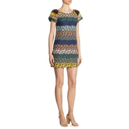 MISSONI Fringe Sleeve Dress