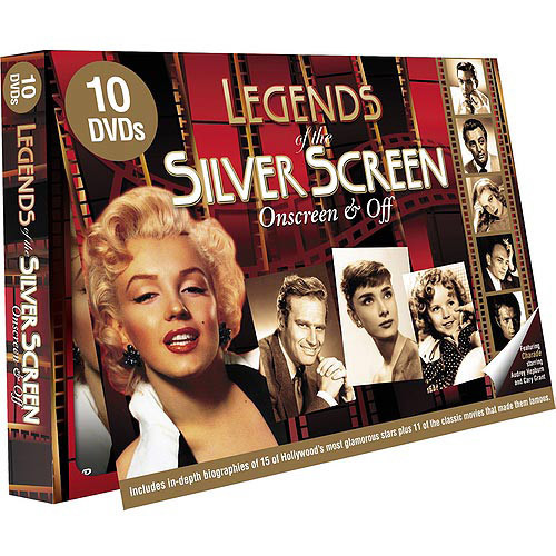 Legends of the Silver Screen: Biographies Box