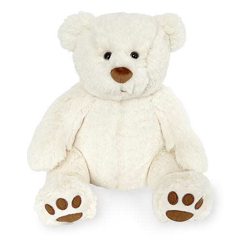 Animal Alley 10 inch Classic Stuffed Teddy Bear - White