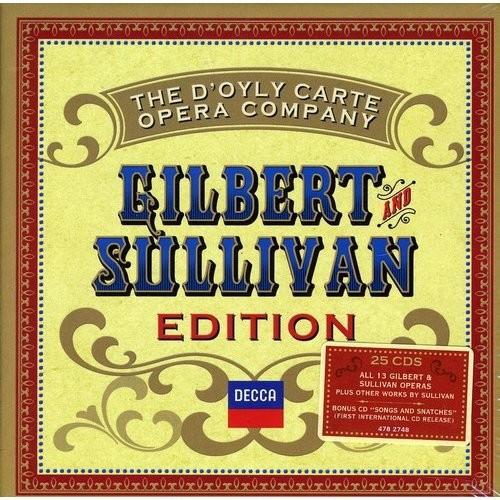 The D'Oyly Carte Opera Company: Gilbert and Sullivan Edition [CD]