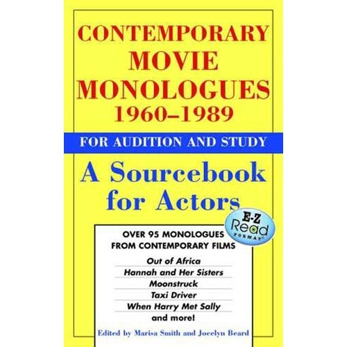 Contemporary Movie Monologues 1960-1989: For Audition and Study
