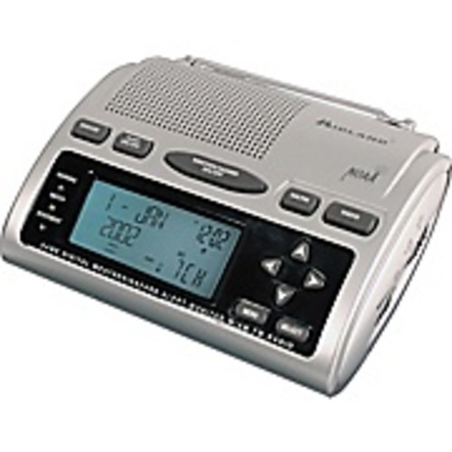 Midland WR-300 Digital Weather/All-Hazards Alert Monitor with AM/FM Radio