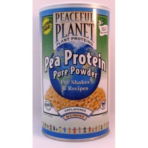 Peaceful Planet Pea Protein Gluten Free VegLife 15.4 oz Powder