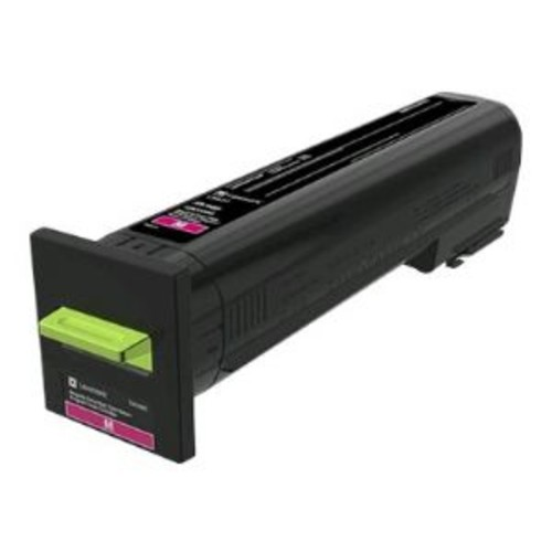 Lexmark - Extra High Yield - magenta - original - toner cartridge LCCP, LRP - for Lexmark CS820de, CS820dte, CS820dtfe