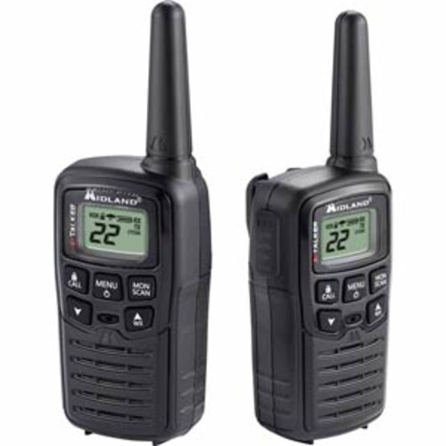 MIDLAND T-10 X-TALKER GMRS TWO-WAY RADIO W/ CLEAR BAND TECHNOLOGY UP TO 20 MILE RANGE