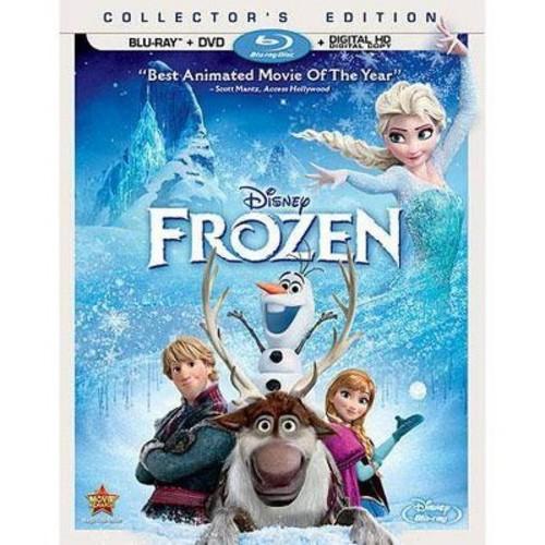 Disney Frozen Blu-Ray Combo Pack (Blu-Ray/DVD/Digital Copy)