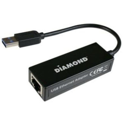Diamond Multimedia (UE3000) USB 3.0 Gigabit Ethernet LAN Network Adapter for PC