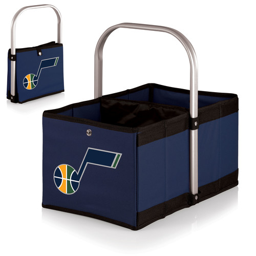 Picnic Time Urban Basket - Utah Jazz - Navy/Slate