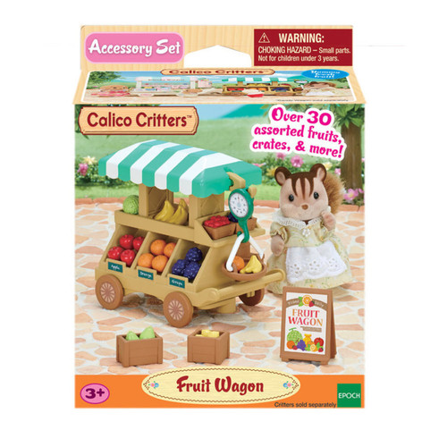 Calico Critters Fruit Wagon Set