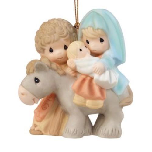 Precious Moments Peace on Earth Holy Family Ornament