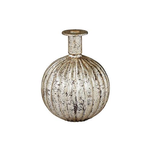Belvedere Candlestick, Antiqued Silver