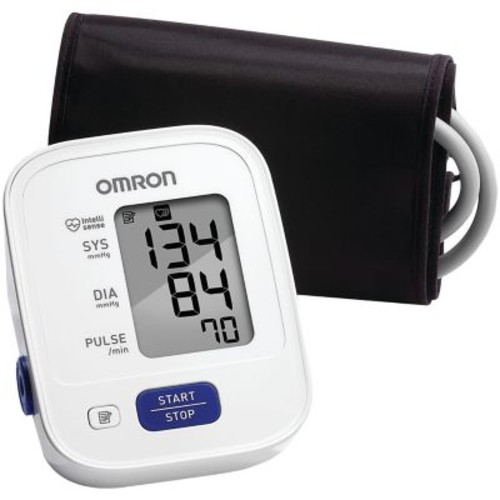 Omron 3 Series Advanced Accuracy Upper Arm Blood Pressure Monitor, White