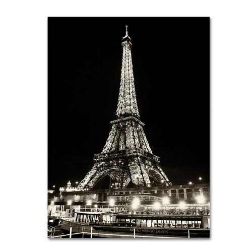 Trademark Global Philippe Hugonnard 'Eiffel Tower Paris' Canvas Art