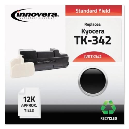 Innovera TK342 Compatible Reman TK-342 (TK-342) Toner, 12000 Page-Yield, Black
