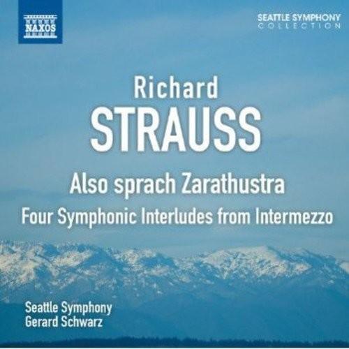 Richard Strauss: Also Sprach Zarathustra; Four Symphonic Interludes from Intermezzo [CD]